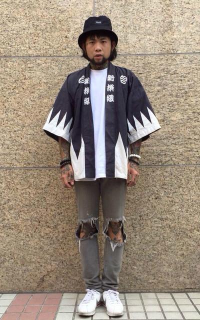 適合日系復古、手手市集、日本和服罩衫、神劍闖江湖的穿搭