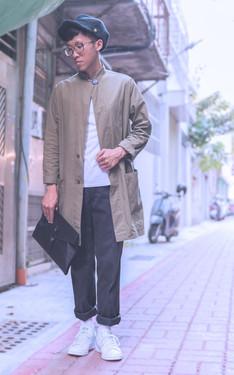 時尚穿搭:好熱的台南巷子