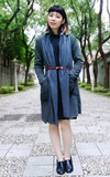 時尚穿搭:大衣與皮帶