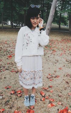 時尚穿搭:森林系之木棉花