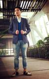 D-MOP 牛仔褲的時尚穿搭