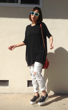 時尚穿搭:黑白最高!