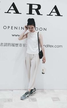 時尚穿搭:簡單,簡約。