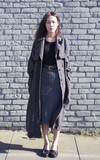 H&M TRENCH COAT的時尚穿搭