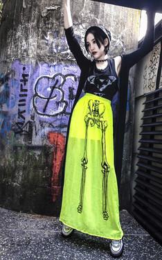時尚穿搭:很黄很暴力