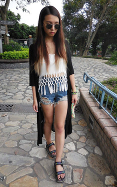 時尚穿搭:宜蘭 礁溪 天氣超舒適