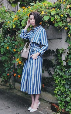 時尚穿搭:stripe,stripes!
