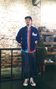 EBBETS FIELD FLANNELS AUTHENTIC JACKET的穿搭