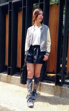 時尚穿搭:黑白灰喵星人