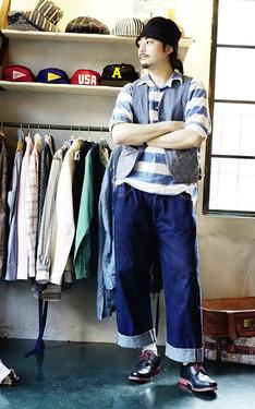 時尚穿搭:條紋選手