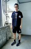 SELECT HOMMIE MESH 棒球短衫的時尚穿搭