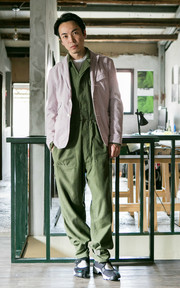 JUMPSUIT US ARMY VINTAGE的穿搭