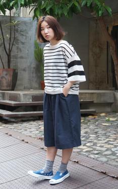 時尚穿搭:喜歡寬鬆的日系休閒