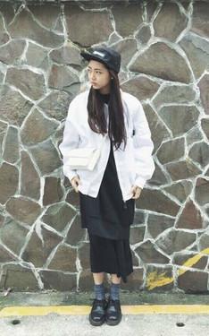時尚穿搭:黑白混搭