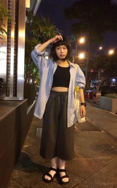時尚穿搭:姊妹咖啡廳聚會之微文青女孩