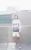 時尚穿搭:大江大海之白色要配淺紫色