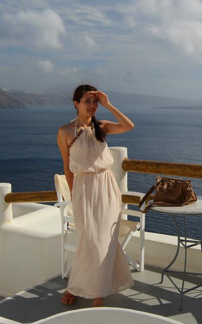 適合希臘女神風格==、愛琴海限定的穿搭