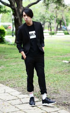 時尚穿搭:黑色無敵