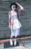 無品牌 KIMONO的時尚穿搭