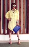 C'ESTCHIC潮物 花卉高跟涼鞋的時尚穿搭