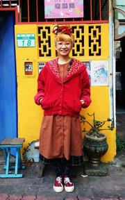 夏漪眺 2013-12-24的搭配