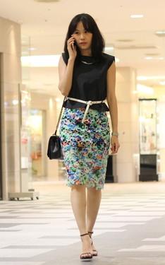 時尚穿搭:窄裙OL穿搭