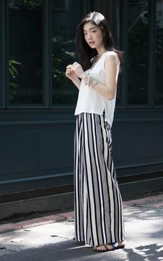 時尚穿搭:今年夏天離不開寬褲