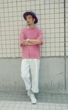 PLAIN-ME 白寬褲的時尚穿搭