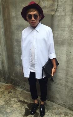 時尚穿搭:黑黑白白