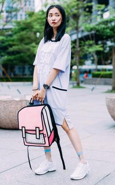 時尚穿搭:誰說臉臭不能穿粉色系