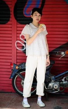 時尚穿搭:吃菠蘿麵包