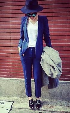 時尚穿搭:姐姐紳士風