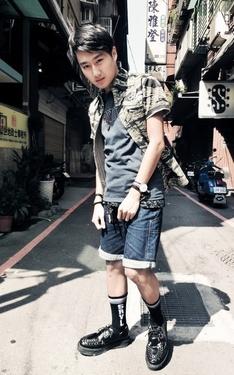 時尚穿搭:街頭層次感