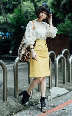 時尚穿搭:甜美中融入個性元素