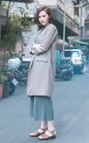 CORNER 長版外套的時尚穿搭