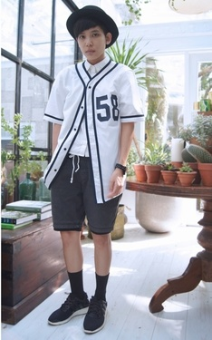 時尚穿搭:▲ #‎green #baseball #fresh #forest。▲