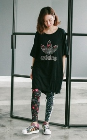 ADIDAS ORIGINALS LEGGING的穿搭