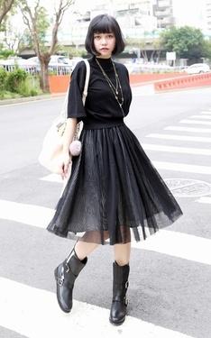 時尚穿搭:20151010 短靴的季節!!