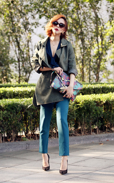 時尚穿搭:不穿風衣的秋天是無聊的