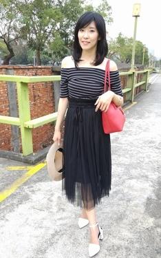 時尚穿搭:好愛紗裙~~