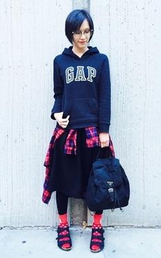 時尚穿搭:黑色果然是最百搭的顏色啦