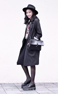 時尚穿搭:英倫復古女孩