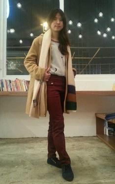 時尚穿搭:冬日休閒