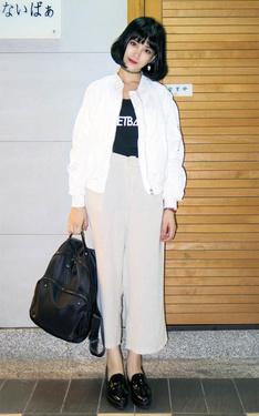 時尚穿搭:MA-1