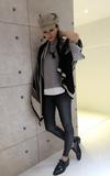 OCT. KOREA BOUTIQUE 羊絨披肩的時尚穿搭