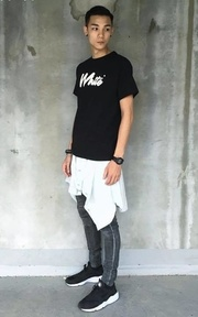 WHITE.CO T-SHIRT的穿搭