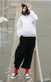 ZEBRA CROSSING 棉質上衣的穿搭