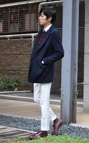 UNITED ARROWS 西裝式大衣的穿搭