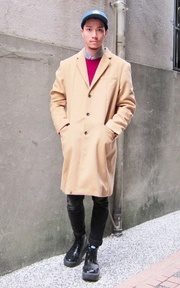GU 大衣的時尚穿搭