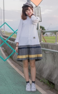 時尚穿搭:偽學生